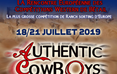 Affiche des AUTHENTIC COWBOYS 2019